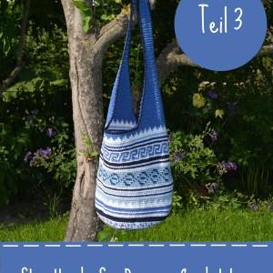 Strandtasche Sea Breeze Crochetalong Teil 3