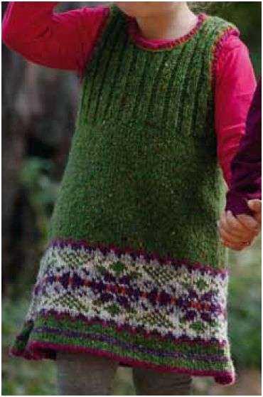 schoenstricken.de | Kinderkleid stricken