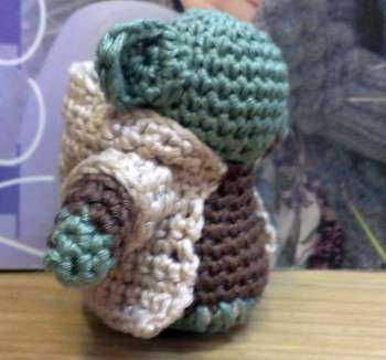 Schoenstrickende Katrin Häkelt Einen Mini Yoda