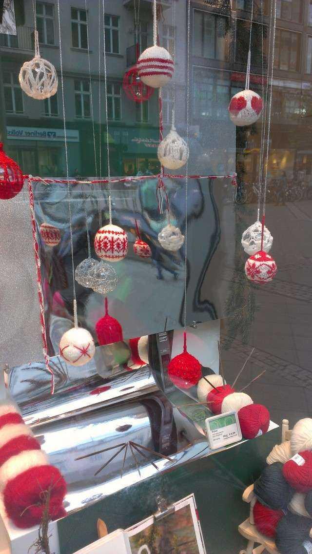 schoenstricken.de | Weihnachtskugeln stricken